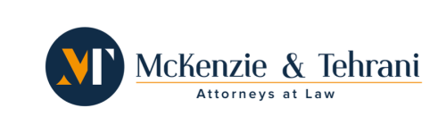 Law Offices of McKenzie and Tehrani Logo